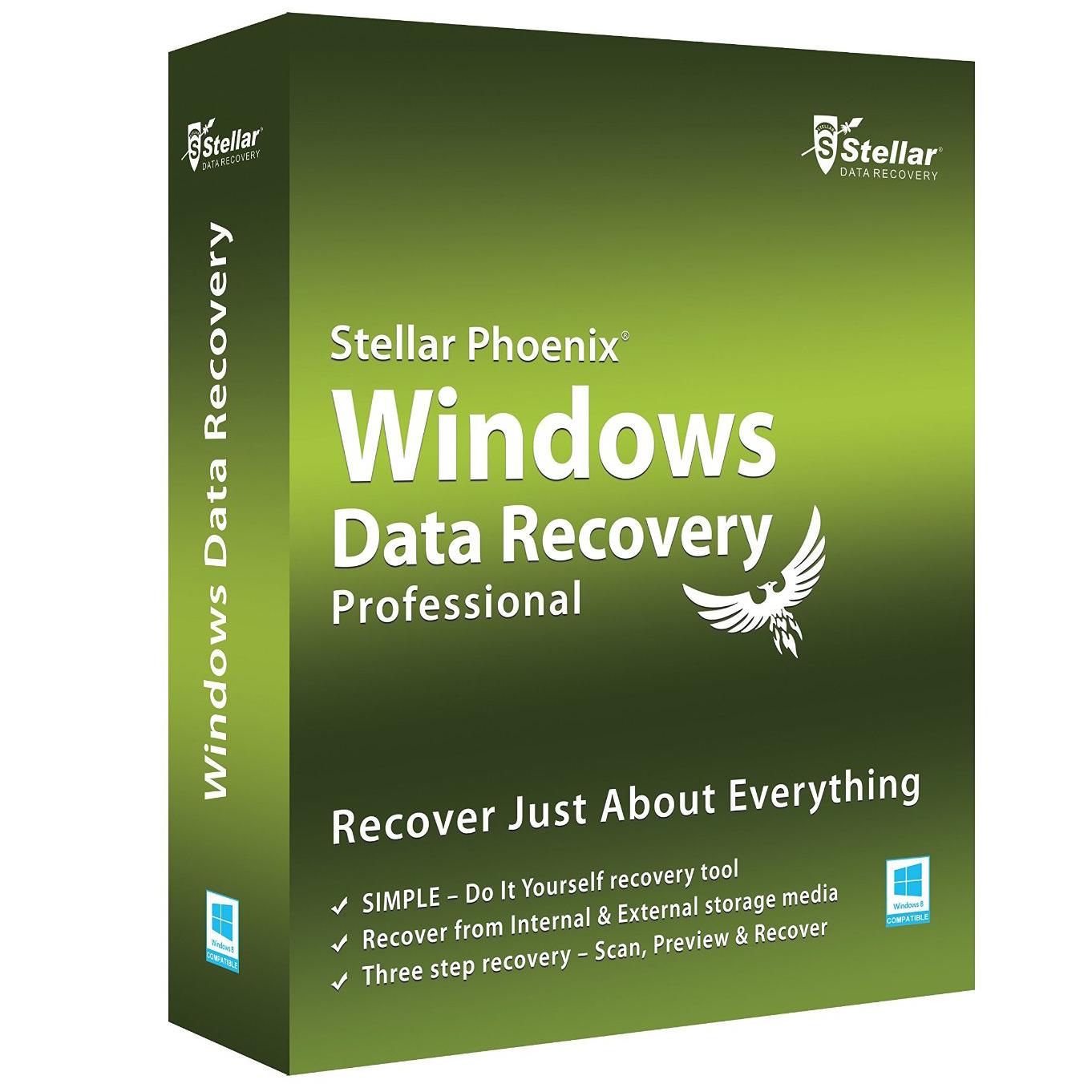 Stellar Phoenix Window Data Recovery Pro