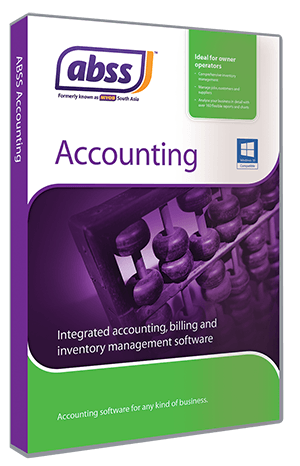 ABSS Accounting v25 ONLY single user 1 currency