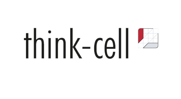 Think-cell per year, 5 users