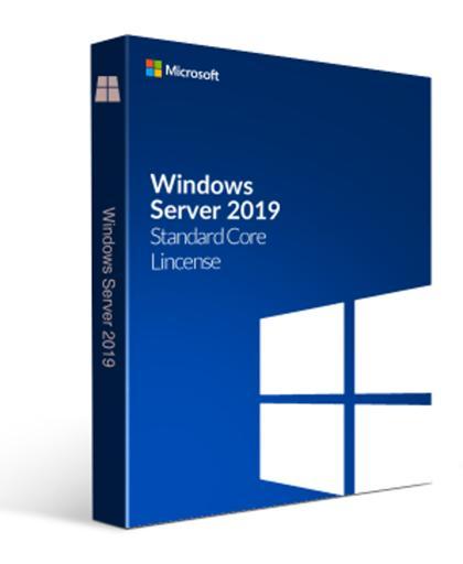 WinSvrSTDCore 2019 SNGL OLP 2Lic NL (8 Core License)