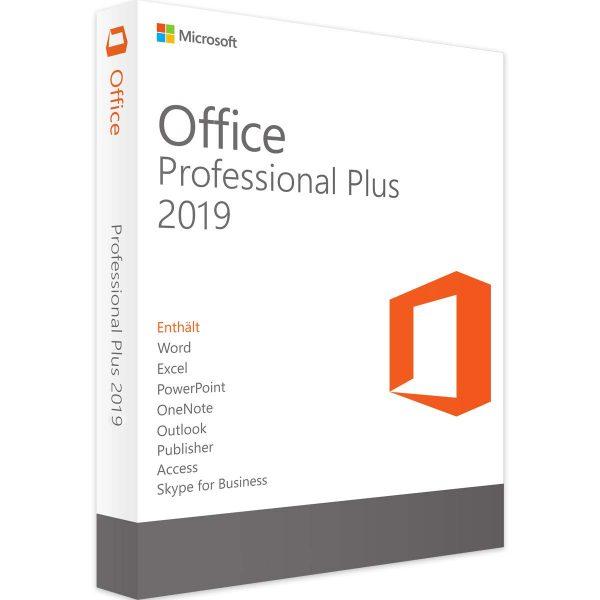 office profesional plus 2019