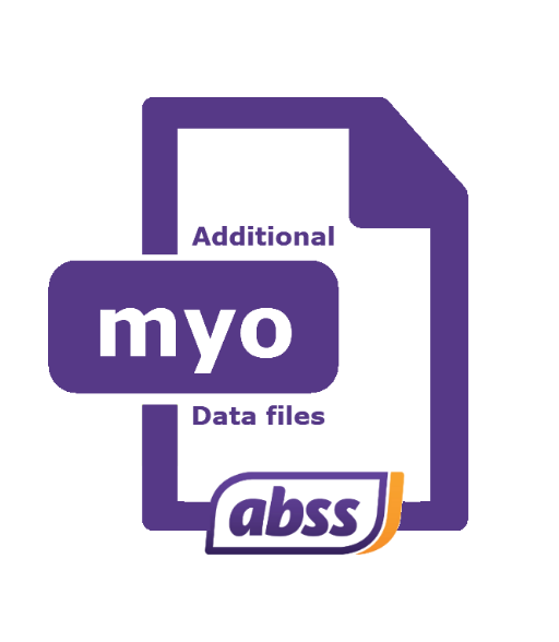 ABSS Additional Data File (5 data files/pack)