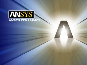 ANSYS FENSAP ICE