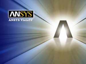 ANSYS VistaTF