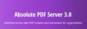 Absolute PDF Server 3.0