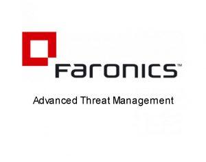 Advanced Threat Management