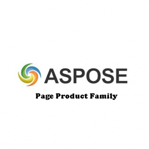 Aspose.Page Product Family