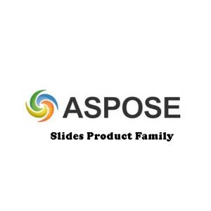 Aspose.Slides Product Family