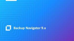 Backup Navigator