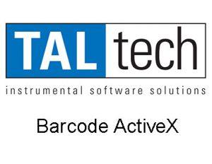 Barcode ActiveX