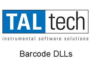 Barcode DLLs