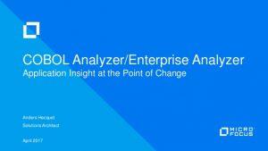 COBOL Analyzer