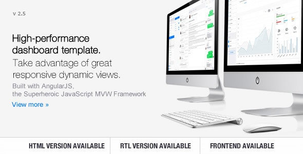 Clip-Two – Bootstrap Admin Template with AngularJS