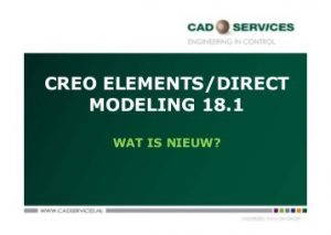 Creo Element Direct Modeling