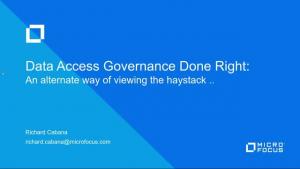 Data Access Governance