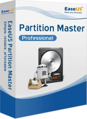 EaseUS Partition Master Professional 13.5 1