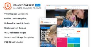 EducationPress Complete Education Template