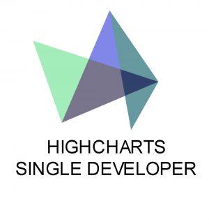 HIGHCHARTS SINGLE DEVELOPER