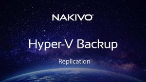 Hyper V Replication