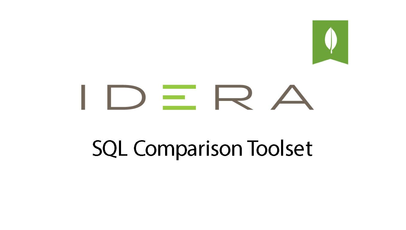 IDERA – SQL Comparison Toolset