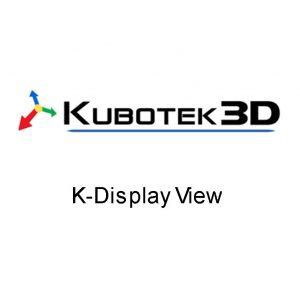 Kubotek Spectrum K Display View