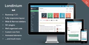 Londinium Responsive Bootstrap 3 Admin Template