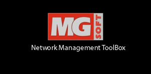 MG SOFT Network Management ToolBox 1