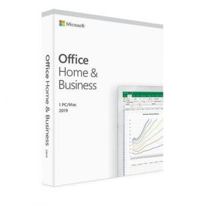 MICROSOFT Office 2019 Home Business FPP for Windows Mac