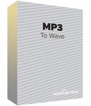 MP3 to Wave Converter PLUS