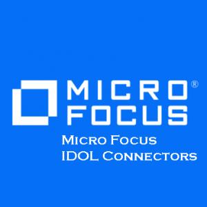 Micro Focus IDOL Connectors