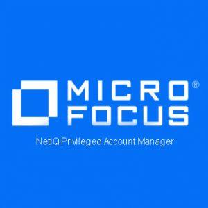 NetIQ Privileged Account Manager