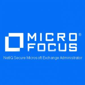 NetIQ Secure Microsoft Exchange Administrator