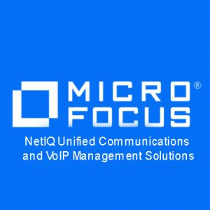 NetIQ Unified Communications and VoIP Management Solutions