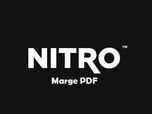 Nitro Marge PDF