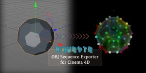 OBJ Sequence Exporter for Cinema 4D