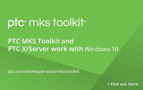 PTC MKS Toolkit for Enterprise Developers: