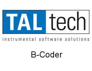 Taltech B Coder 1
