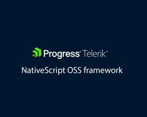 Telerik NativeScript OSS framework