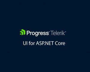 Telerik UI for ASP.NET Core