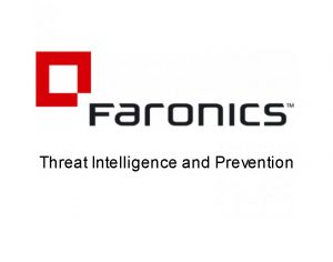 Threat Intelligence and Prevention