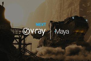 V RAY NEXT FOR MAYA