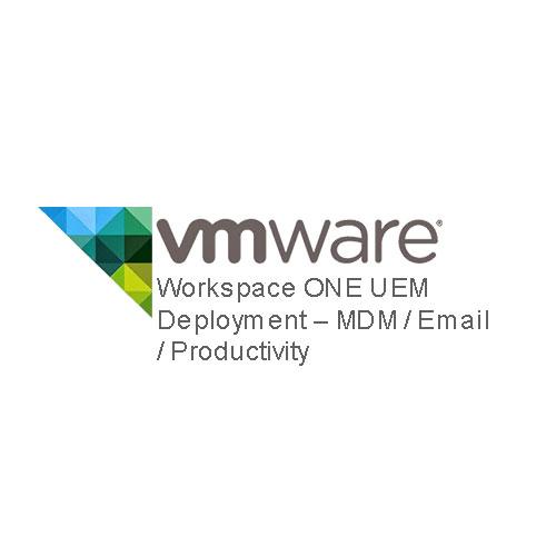 Workspace ONE UEM Deployment – MDM / Email / Productivity