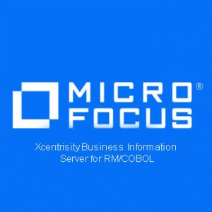 Xcentrisity Business Information Server for RM COBOL