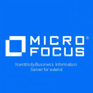 Xcentrisity Business Information Server for extend