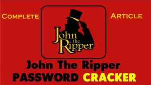 ohn the Ripper Pro password cracker for Linux