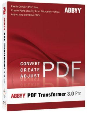 ABBYY PDF Transformer 3