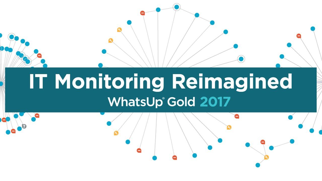 WhatsUp Gold 2017