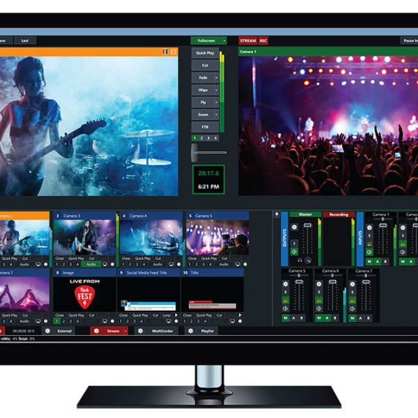 vMix Pro – Live Video Streaming Software for your PC