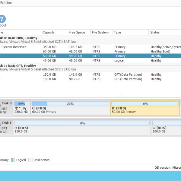 NIUBI Partition Editor Server