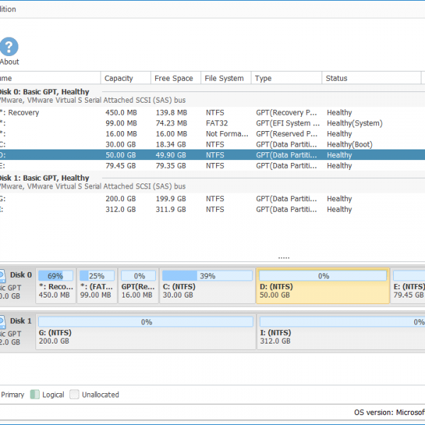 Niubi Partition Editor Enterprise Edition